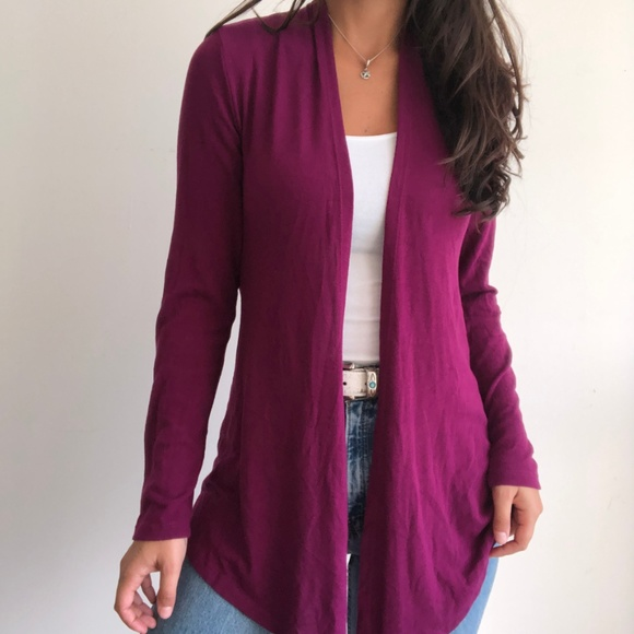 2 LEFT 4.1 Hawthorn Abrianna open front cardigan
